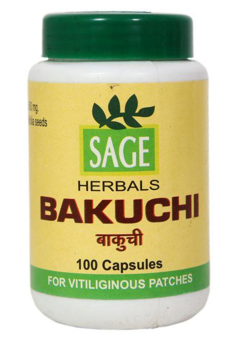 SAGE BAKUCHI CAPSULES 100 NOS. 1