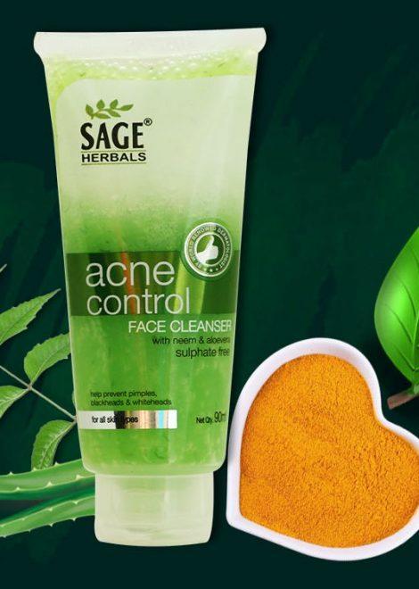 acne control face